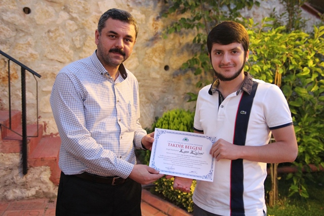 Çağın Mus'abları Ve Esmaları İlahiyat Yaz Eğitim Programı Tamamlandı