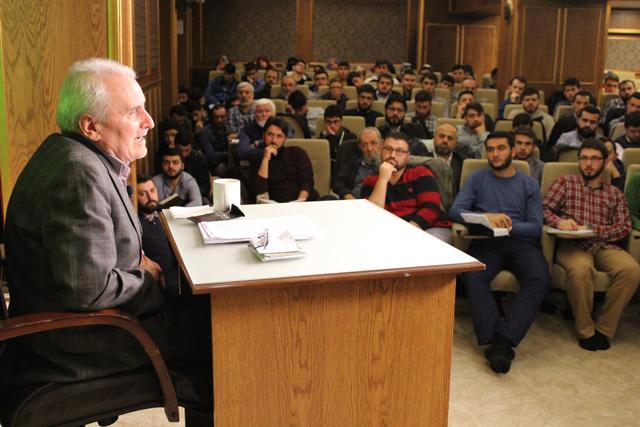 Prof. Dr. Hamdi Döndüren Siyer Vakfında