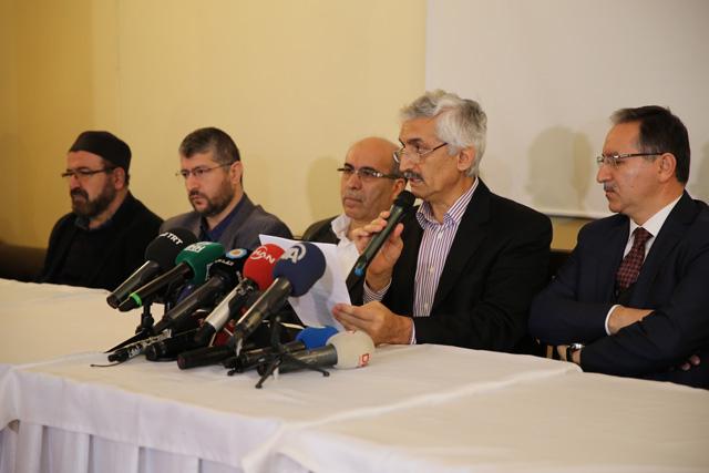 Hocalarımızdan Basın Bildirisi: Mescid-i Aksa'yı Yalnız Bırakmayacağız!