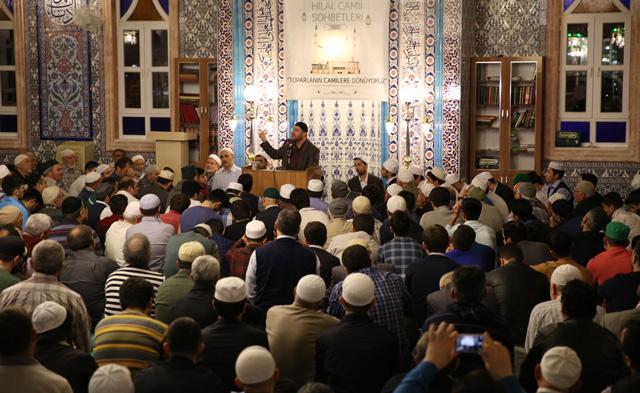 Muhammed Emin Yıldırım Üçler Hilal Cami
