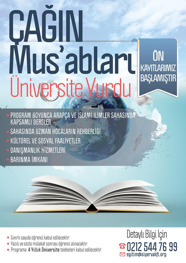 Çağın Mus'abları Yeni Üniversite Programı Başlıyor
