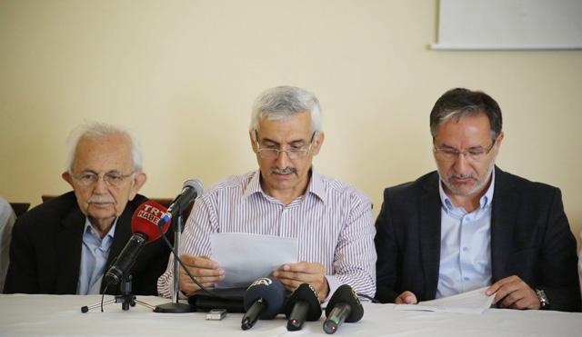 15 Temmuz Basın Toplantısı