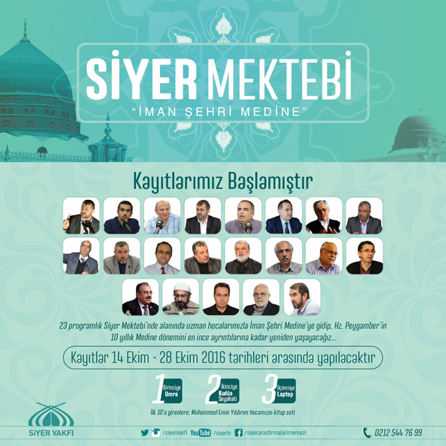 Siyer Mektebi İman Şehri Medine
