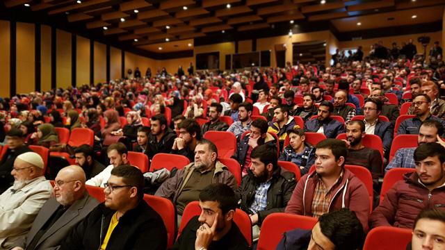 Sivas Cumhuriyet Üniversitesi Konferansı